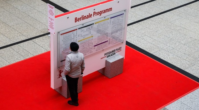 Search for a programme at the Berlinale. © Berlinale