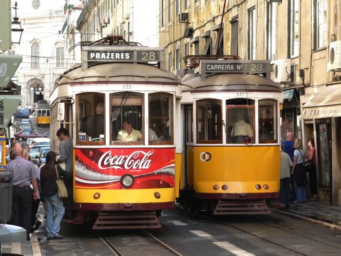 Tram 28 in Lisbon. © Dr.G.Schmitz