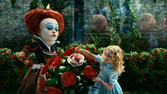 The dreadful Red Queen & Alice in Alice's Adventures in Wonderland!