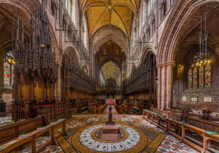 The most beautiful Chester Cathedral.
