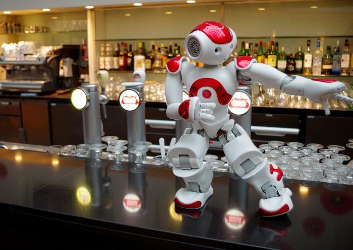 ITB Berlin 2016 robot NAO. ©Aldebaran Robotics