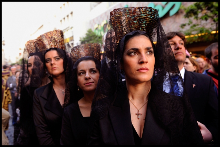 Holy Week, otherwise known as Semana Santa de Sevilla! © Peter Turnley/Corbis.