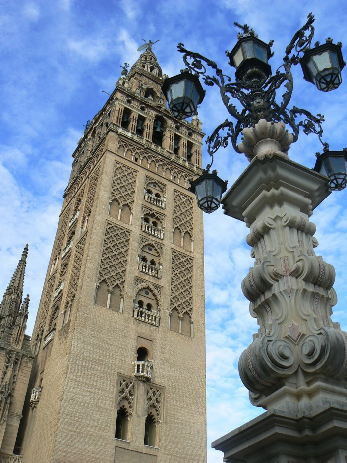 Why not climb up the Cathdral Tower, in Seville?