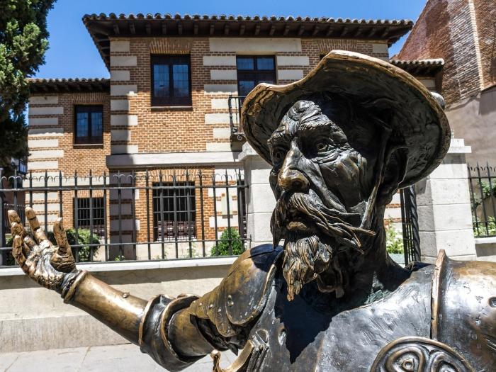 The magnificent Don Quixote in Madrid!