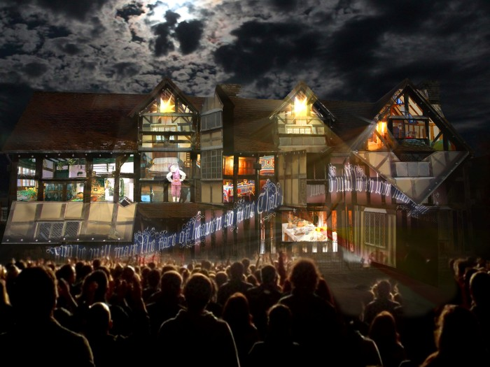 Illuminating Shakespeare Artists' Impression.