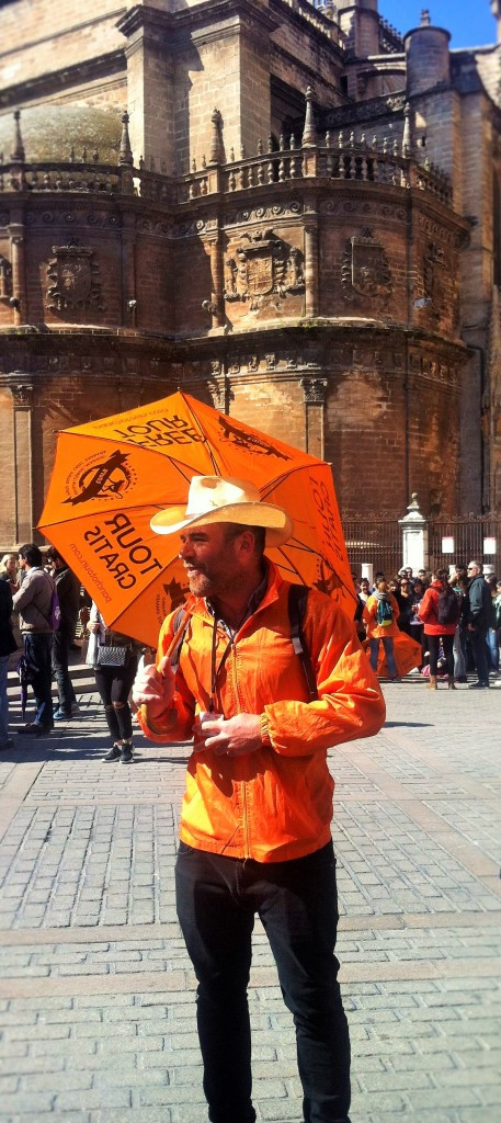 Rafael from Pancho Tours in Seville.