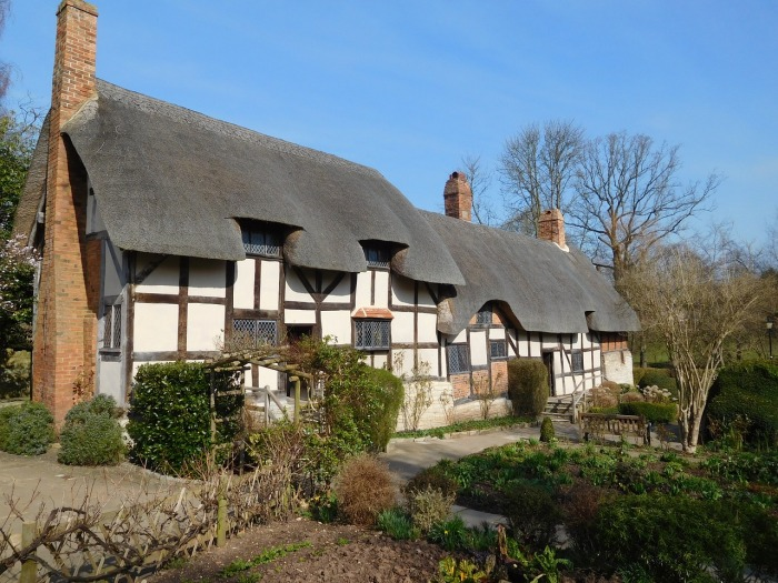 The house of Anne Hathaway - Shakespeare's wife!