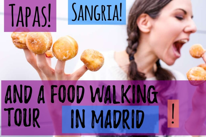 Tapas, sangria and a food walking tour in Madrid!