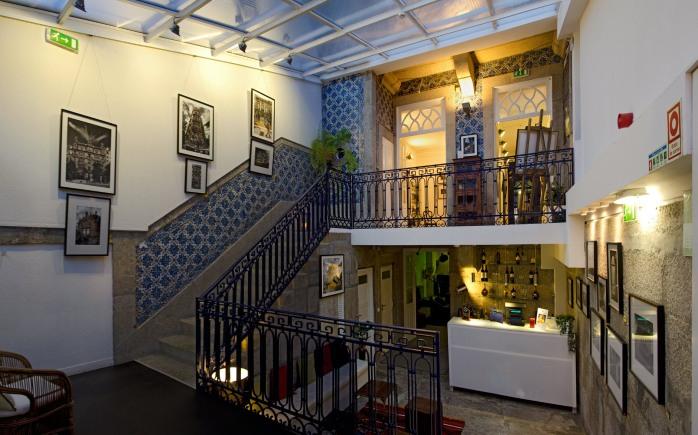 The trendy art Gallery Hostel!