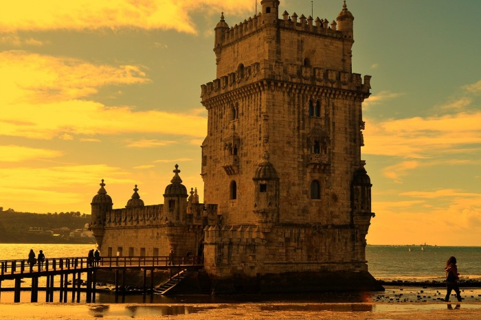 The former fishng village of Belém. In Lisbon!