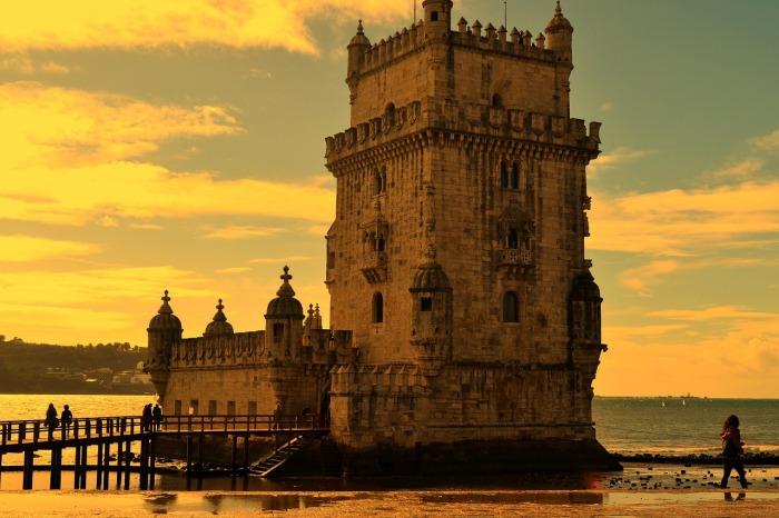 The former fishng village of Belém. In Lisbon!
