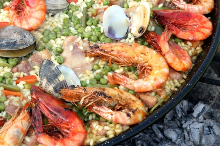 Paella in Spain is just all you need!