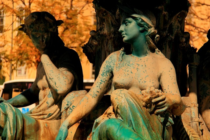 Statues in Portugal.