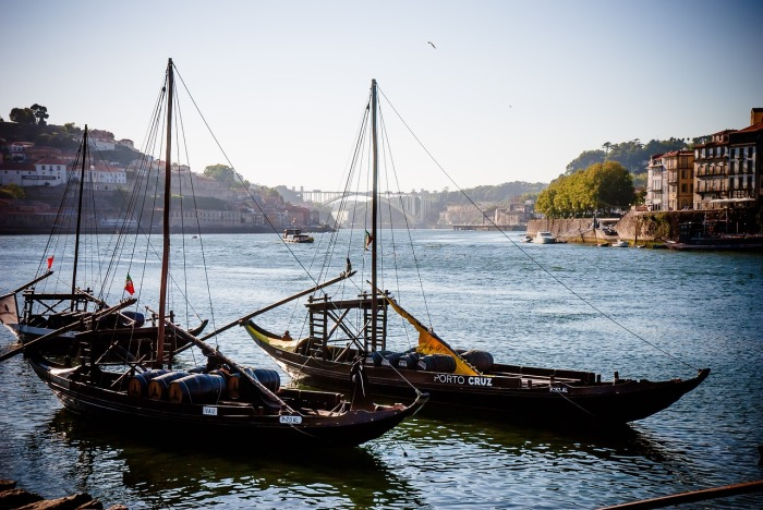 The Douro River is famously important, in Porto!