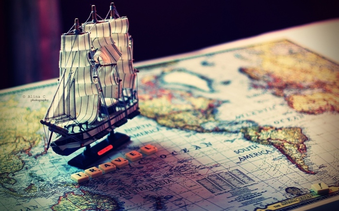 How to unravel the mystery of the map, and claim the treasure! Ship @ Alina C photography