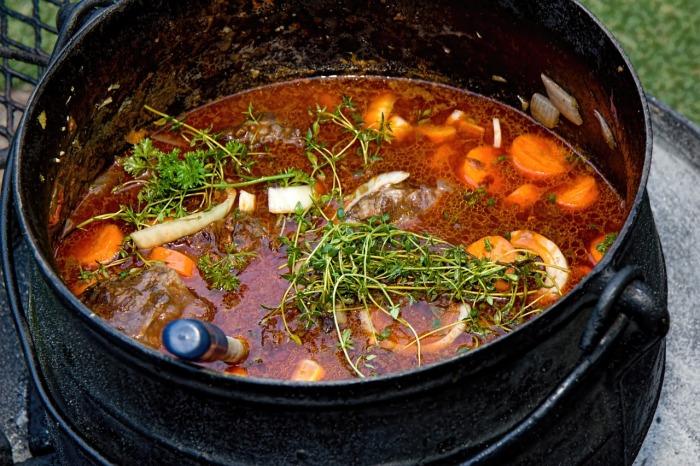 Vegetable stew.