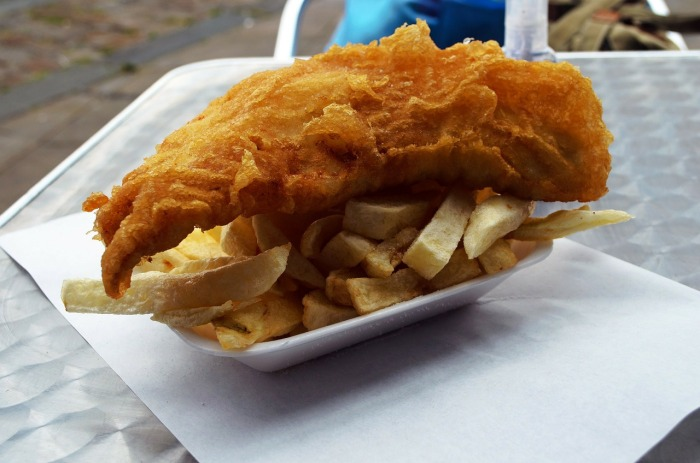 A lovely batch of fish n' chips!