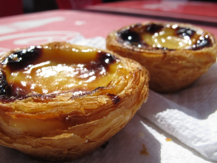 Scrummy Pastel de Nata or Pastel de Belem, otherwise known as Portuguese Custard Tarts!