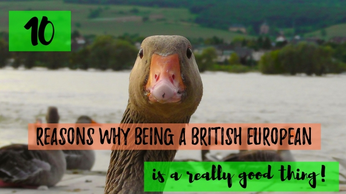 10 reasons why being a British European is a really good thing!