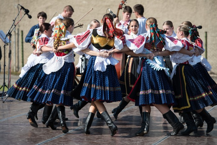The local folk of Bratislava, in Slovakia!