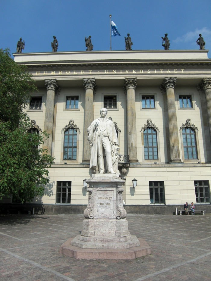 Being a British European means free education at the Humboldt University, in Berlin!