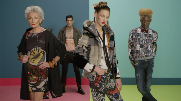 Yes you art - Desigual AW 2015 - nominated for Casting, Use of Fashion and Emerging Artist Berlin Fashion Film Festival (BFFF)
