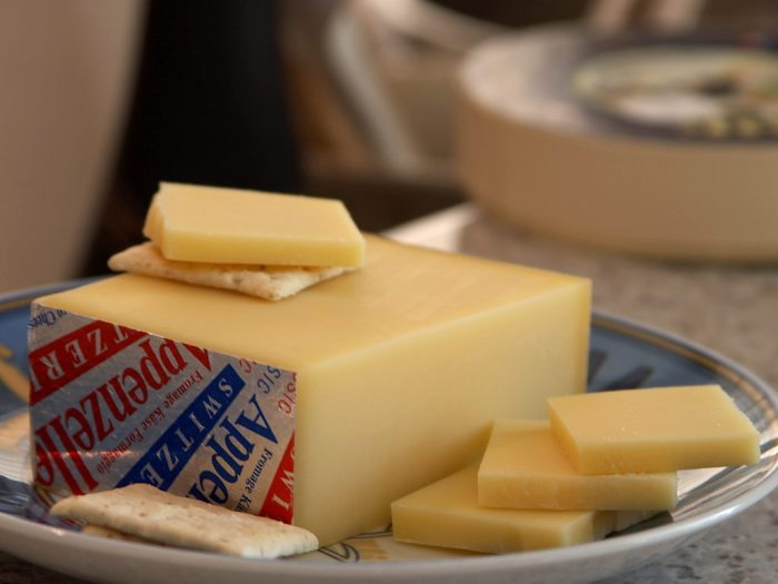 Appenzeller cheese. Why you should visit Switzerland, and eat cheese!