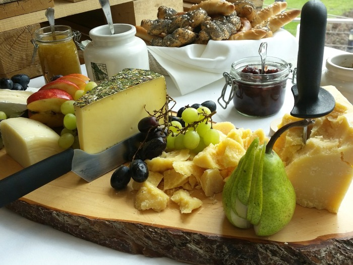 Organic sandwiches, salad, and cake! Why you should visit Switzerland, and eat cheese!
