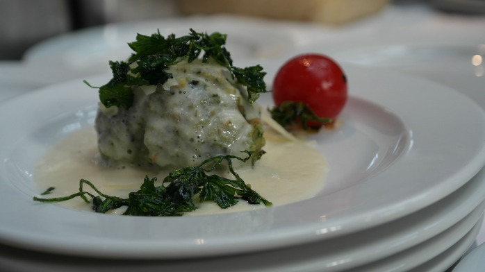 Potato dumplings with ricotta & vegetables! Why you should visit Switzerland, and eat cheese!
