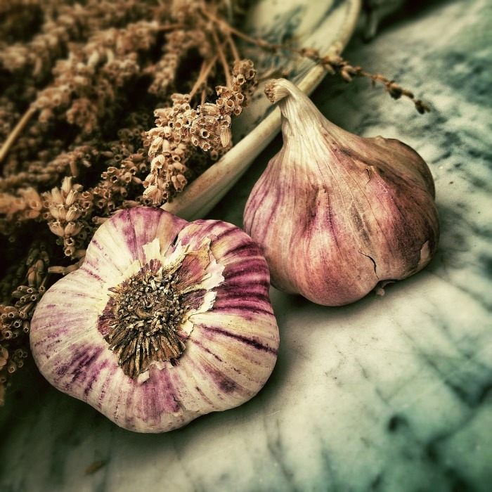 Images of garlic and onions. Or is that just me!