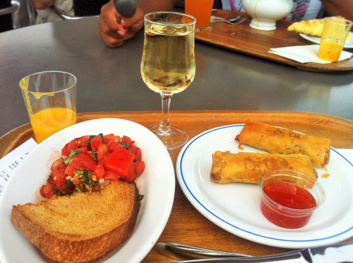 We had lots of food stuff - reasonably priced! Why you should visit Switzerland, and eat cheese!