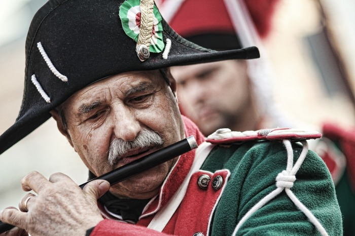 An Italian flutist! Italy in photography: My homage to a remarkable country!
