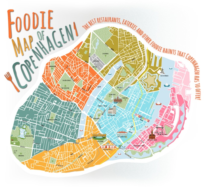 Arm yourself with a good map. How to visit Copenhagen on a budget. Even though I missed my last connection. Again!