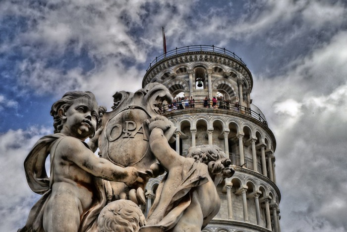 The Leaning Tower of Pisa, in Italy. Italy in photography: My homage to a remarkable country!