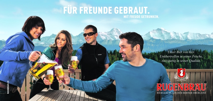 Swiss beer is not easily available so when in Switzerland, a local brewery is best, to see how it's done! Why you should visit Switzerland, and eat cheese!