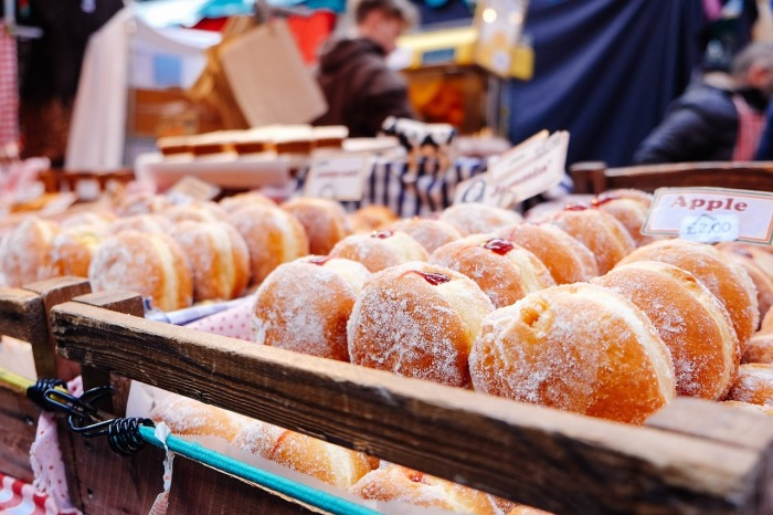 If you're really broke, just go for doughnuts, and be done with it! How to eat cheaply in Luxembourg!