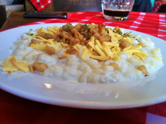 The national dish of Slovakia is called Bryndzové Halušky.