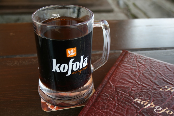 A large glass of Kofola - a popular traditional Slovak cola drink! ©Martin Strachoň