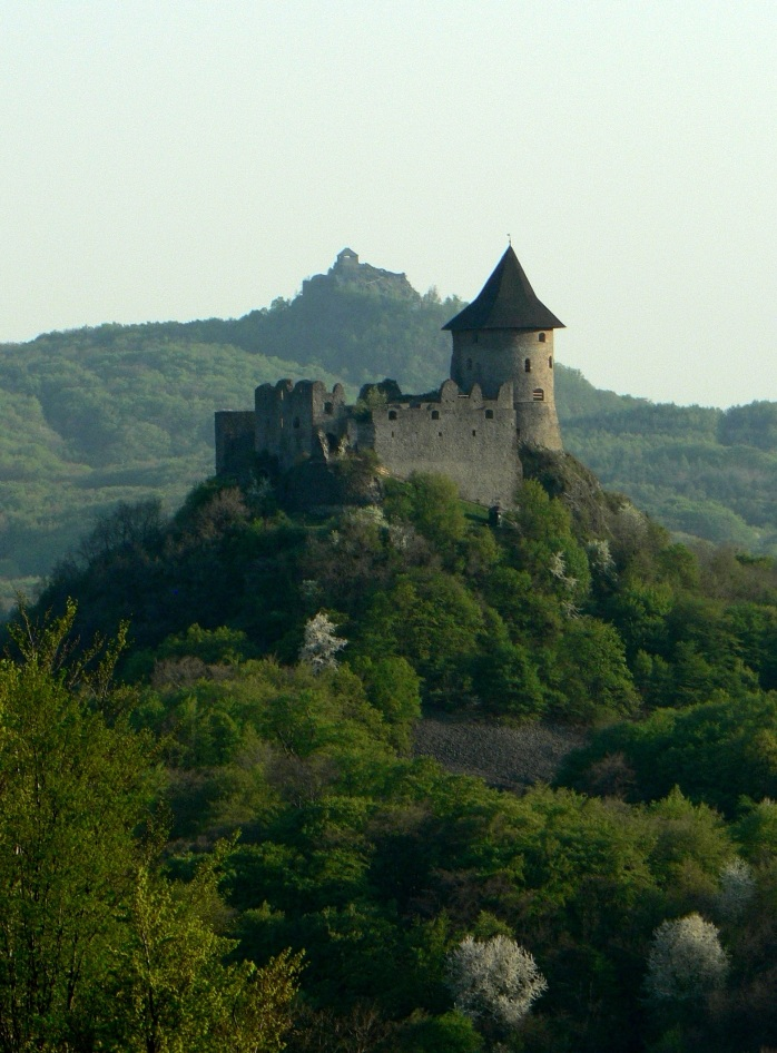 A historical castle in Slovakia!