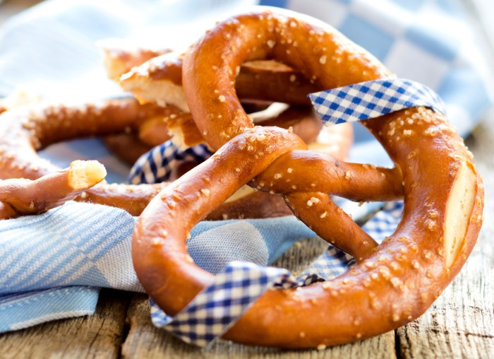 Tasty German Bavarian pretzels!
