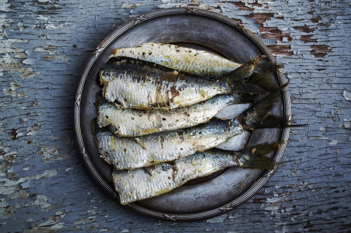 A plate of sardines can be quite delicious!