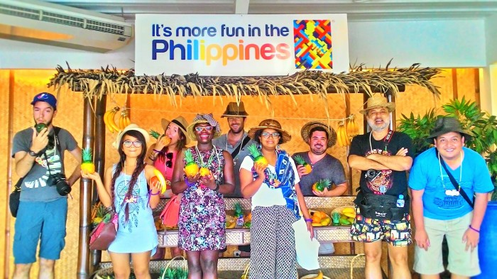 Team Visayan Charms - It's more fun in the Philippines! ©Trixie Lago - the Tourism Promotions Board Philippines