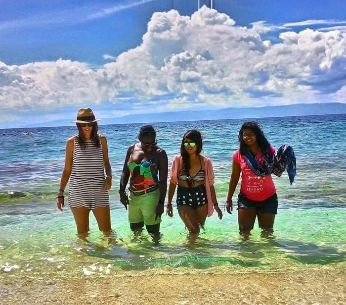 The 50 Shades of Tan Girls - Visayan Charms - Megan Indoe, Victoria Ade-Genschow, Charlotte Anne de Peralta & Ruchika Shankar! ©Trixie Lago - the Tourism Promotions Board Philippines