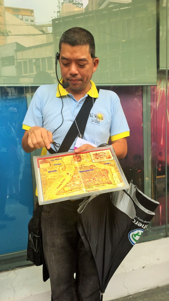 Ivan Man Dy - the man and brains behind Old Manila Walks.