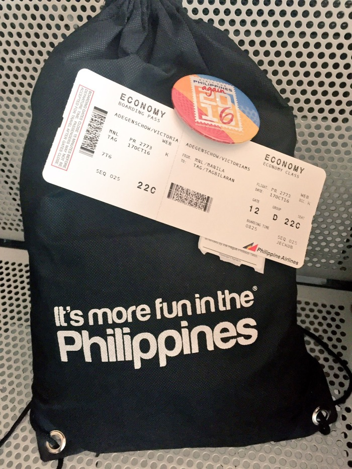 Getting ready to fly out on our Visayan Charms FAM trip in the Philippines!