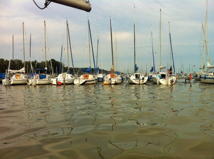 Sailing in Mardorf.