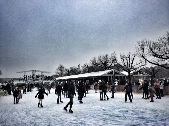 How to visit Amsterdam in two days. With a teenager - ice-skating!