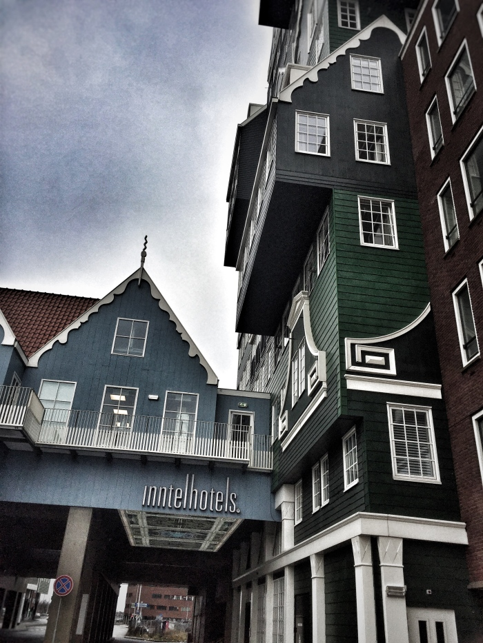 Staying at the rather unique 4 star Inntel Hotels Amsterdam Zaandam, was fun!