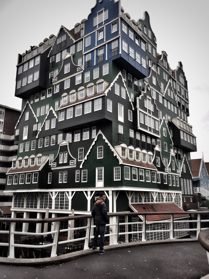 The rather unique 4 star Inntel Hotel Amsterdam Zaandam!