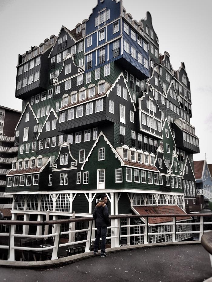 The rather unique 4 star Inntel Hotel Amsterdam Zaandam!